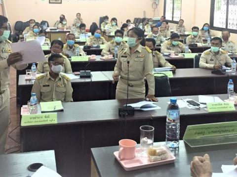 รูปภาพการประชุมสภาองค์การบริหารส่วนตำบลหนองชัยศรี สมัยสามัญ สมัย