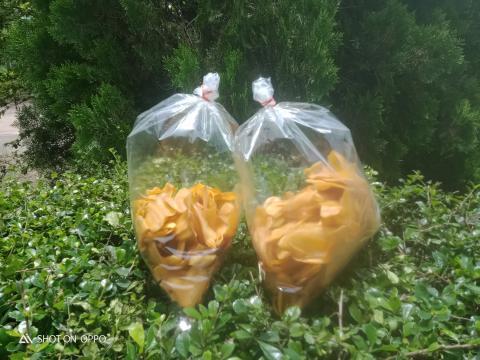 กล้วยอบเนย..มีหลายขนาดเลือกซื้อตามความชอบ..ผลิตภัณฑ์กลุ่มแม่บ้าน