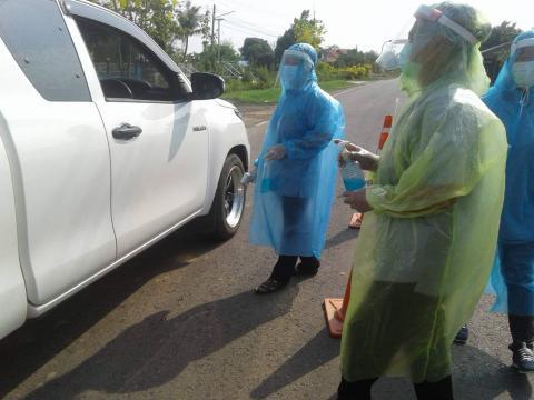 รวมรูปภาพ : ตำบลหนองชัยศรี ร่วมป้องกันการแพร่ระบาดของเชื้อไวรัสโ